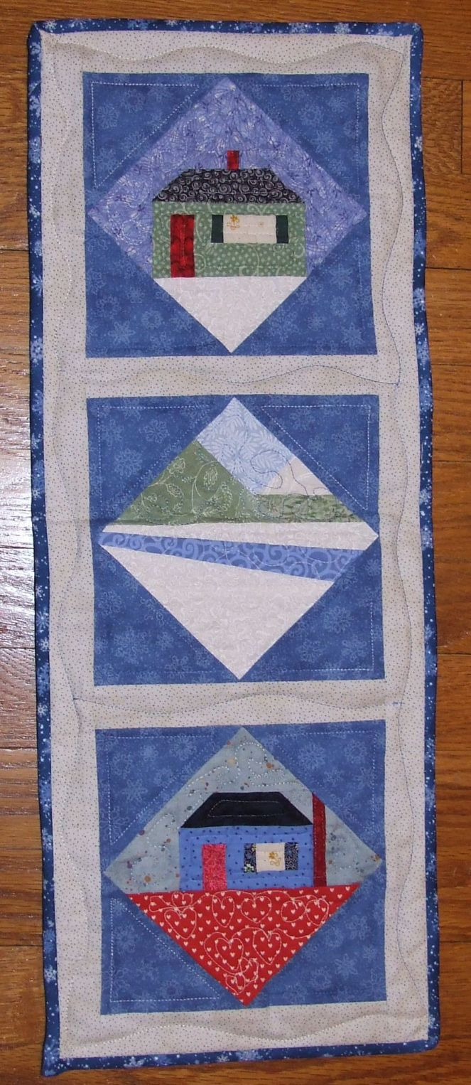 Carol Doak Winter Blocks