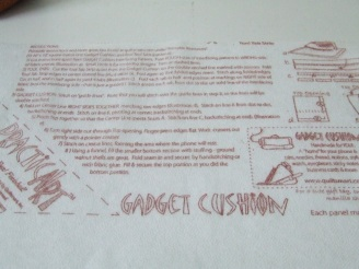 Gadget Cushion Instructions